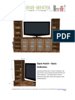 DIY Open Hutch Plans Inspired by Pottery Barn's Printer Collection