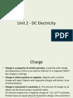 Unit 2 - DC Electricity TES