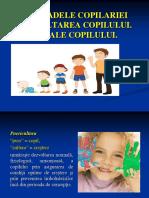 PUERICULTURA. Dezvoltarea copilului