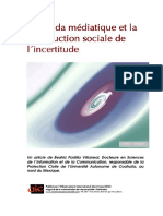 Construction Sociale Incertitude Medias