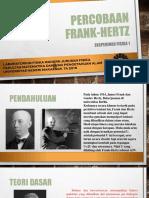 PPT Frank Hertz