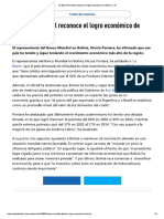 El Banco Mundial reconoce el logro económico de Bolivia.pdf