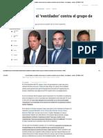 Federico Gaviria, El Ventilador Contra El Grupo de Senadores Conocidos Como Los Buldócer - Investigación - Justicia - ELTIEMPO