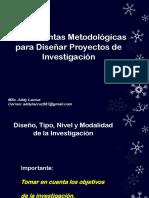 Metodología de Investigación.