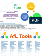 Assessment for Learning Toolkit V1