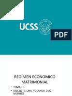 Regimen Economico Matrimonial
