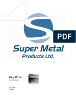 Super Metal Guy Wire