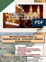 Metodologias para la generacion de catastro-ICL.pps