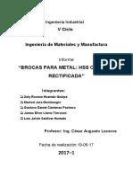 Trabajo Ing. de Materiales y Manufactura
