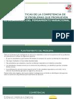 Diapositivas Características de La Competencia de Resolución de Problemas