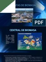 Centrales Biomasa