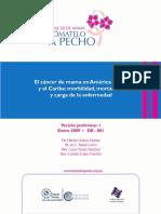 El Cancer de Mama en America Latina