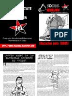 Boletín FeL UChile Agosto