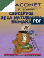 B - Conceptos de La Naturaleza Humana