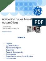 Aplicacion de Las Transferencias Automaticas Ats