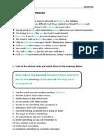 FCE - Education Phrasal Verbs