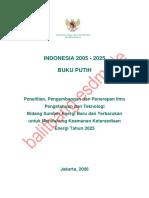Buku Putih Energi 2005-2025