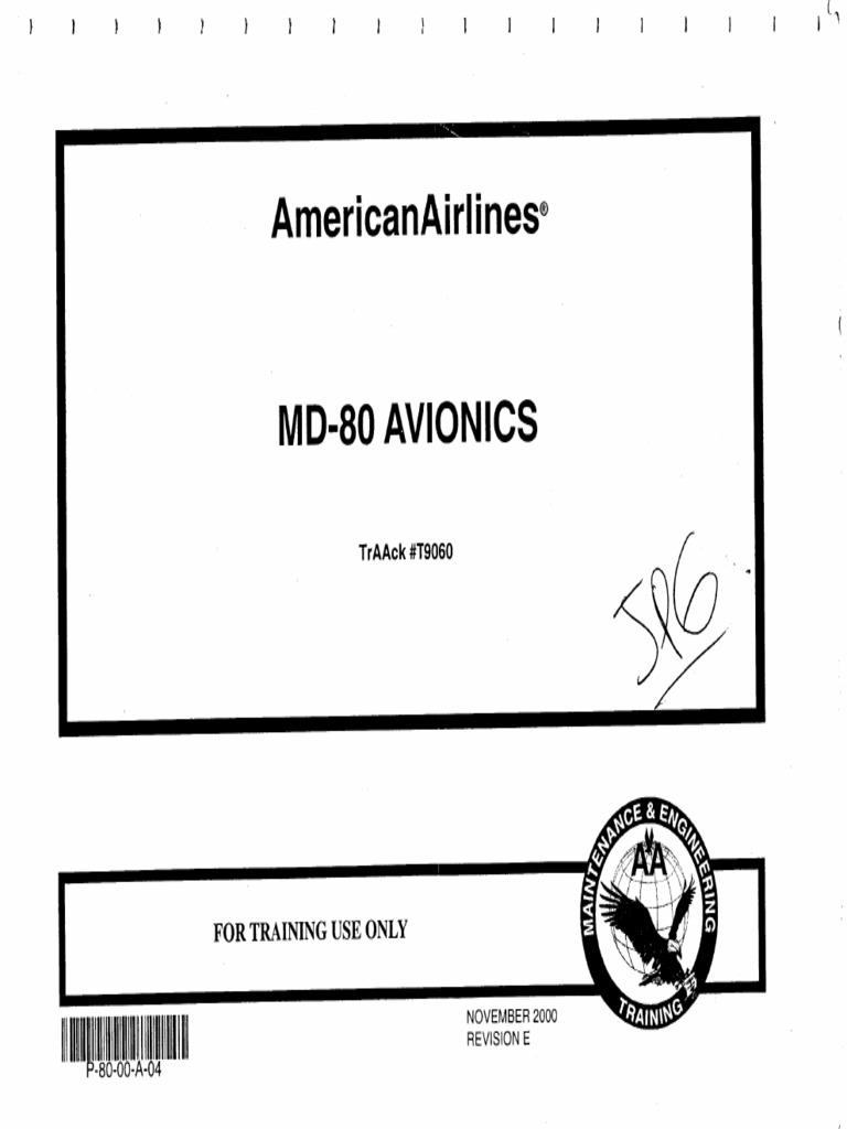 1. Md-80 Avionics