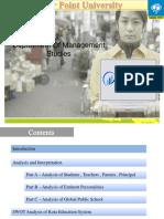 Presentation ON KOTA  CITY Education Survey 2014-15