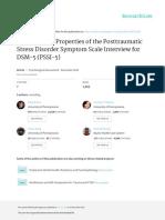 2016 PSSI-5 PsychologicalAssessment
