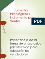 Prueba IPV
