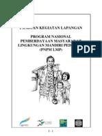 Buku Panduan Lapangan PNPM