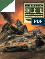 BattleTech 1667 - Record Sheets, Volume Five Vehicles
