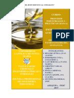 Informe 8 - Aceite de Oliva