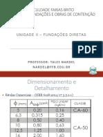 Unidade II Fundações Diretas FEC Parte03