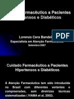 13 30 Lorenzo Bandeira - Cuidado Farmacêutico a Pacientes Hipertensos e Diabéticos
