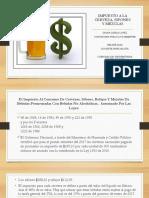 Impuesto a La Cerveza, Sifones y Mezclas Act.