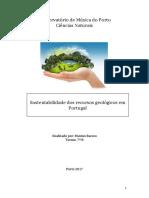Sustentabilidade dos recursos geológicos em Portugal.docx