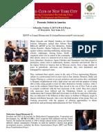 Soloist in America Harvard
