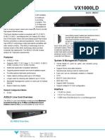 Vx 1000ld Datasheet