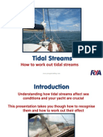 Tidal Streams Calculation