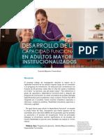 Desarrollo de Capacidades Funcionales en Adultos Mayores