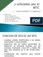 Equipos Utilizados Por El MTC