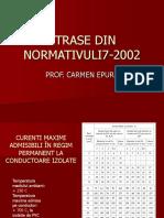 Etrase Din Normativuli7-2002