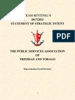 1 PDF FINAL Team Sentinel 2017-2021 Statement of Strategic Intent