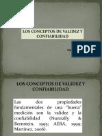 Los Conceptos de Validez y Confiabilidad. Iraima V. Martínez  M.