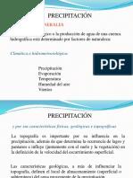 Nubes y Tipos Precipitación