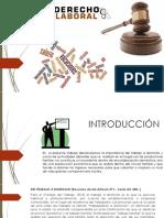 Exposición Derecho Laboral