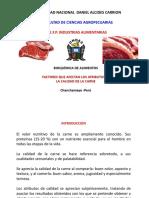 Factores Calidad de La Carne