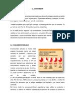 Perfil Del Consumidor Peruano y Arequipeño