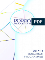 Poppin Productions Education Guide 2017-18
