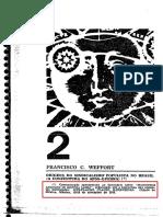 1972 Origens Do Sindicalismo Populista - Francisco Weffort.