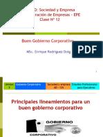 Clase 12 Buen Gobierno Corporativo