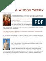 Aristotle de Interpretatione, Fate or Free Will
