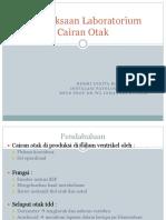 Pemeriksaan Laboratorium Cairan Otak Kuliah FK.ppt