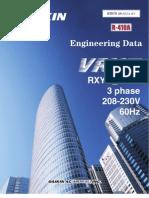 Edus39-802a-r1 Rxyq-p Vrviii 208-230v Heat Pump